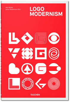 All Good Logos Are Modernist Logos, Really |  Taschen | From WIRED.com