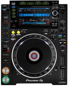 Pioneer CDJ-2000 NXS2 Advanced Pro CDJ Rekordbox Multiplayer