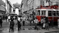 Zona comercial Place: Baixa Photo: Turismo de Lisboa