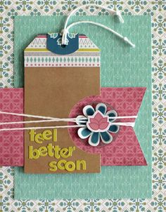 Basic Grey Card of the Month -May 2015 featuring Prism