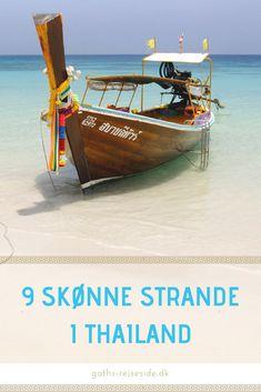 9 skønne strande i Thailand. Se nogle af Thailands bedste strande. Tag med til bl.a. Koh Rok, Koh Kood og Koh Phangan.