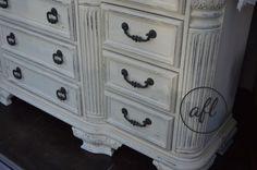 dresser painted milk paint
