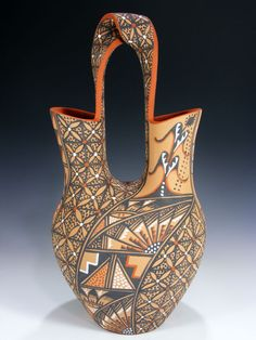 Awesome patterns to try on the wedding vase i made Native American Decor, Native American Pottery, Native American Indians, Pottery Designs, Pottery Ideas, Trail Of Tears, Indian Tribes, Wedding Vases, Totem Poles