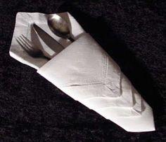 No rastro da memória (Santa Rita do Sapucaí): A arte do Origami - Guardanapo Diamante