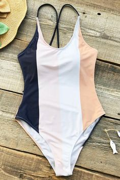 Cupshe Invisible Wing Cross One-piece Swimsuit