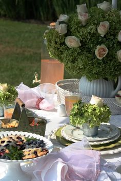 this most beautiful tea party for two!