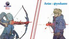 "1,395 Suka, 70 Komentar - Alucard - Mobile Legends (@alucard_demon.hunter) di Instagram: ""One heart, One love Cre: @yrolustre  #aluya #alumiya #alucard #mobilelegends"" Bang Bang, Anime Neko, Manga Anime, Alucard Cosplay, Miya Mobile Legends, Alucard Mobile Legends, Moba Legends, Comics Love, Mobiles"