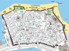 carte des remparts