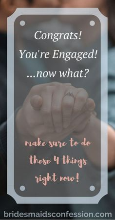 What to do after you get engaged. Hire a wedding planner and find a venue. Tie The Knot Wedding, Diy Wedding, Dream Wedding, Wedding Ideas, Wedding Planning Inspiration, Wedding Planning Tips, Wedding Planner, Wedding Advice, Wedding Vendors