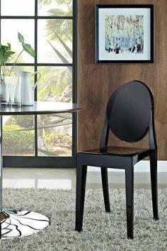 Casper Side Chair - Black by Modway on @HauteLook