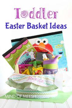 Dollar tree easter baskets easter baskets easter and child toddler easter basket gift ideas negle Images