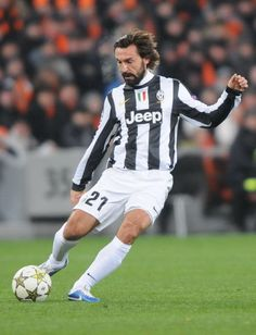 Andrea Pirlo.....still going on strong....