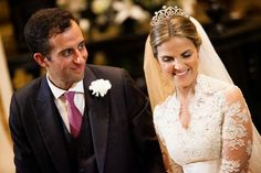 Monarquia Europeia e Mundial: Casamento da Princesa Amélia e James Spearman