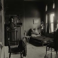 zzzze:  Diane Arbus, Nancy Bellamy's Bedroom, N.Y.C.,1961