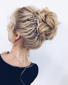 unique wedding hairstyles updo braided updo hairstyle ,swept back bridal hairstyle ,updo hairstyles ,wedding hairstyles Braided Hairstyles Updo, Braided Updo, Bride Hairstyles, Vintage Hairstyles, Hairstyles Pictures, Elegant Wedding Hair, Wedding Hair And Makeup, Wedding Updo, Chic Wedding