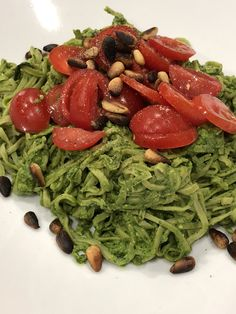 Pesto and pasta is one of the quickest dinners to knock together, and is always an enjoyable meal. However it is not always an available option to use a store bought bottle of pesto if you are vega…