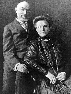Isidor Straus, an owner of Macy's department store, and his wife, Ida, refused to be separated and died together when the ship went down.