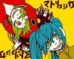 Vocaloid Matryoshka on Pinterest | Vocaloid, Vocaloid Cosplay and ...