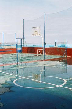 Basketball Court Photogrpahy