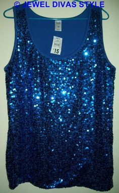 Jewel Divas: MY PERSONAL COLLECTION: Blue clothes part 3. My sparkly disco ball!