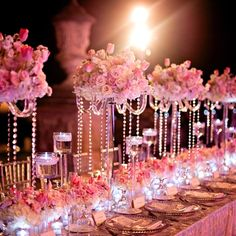 Here is a collection of 28 Amazing Wedding Table Arrangements that will get you inspired of how your wedding table should be arranged. Table Arrangements, Table Centerpieces, Wedding Centerpieces, Centrepieces, Crystal Centerpieces, Vintage Centerpieces, White Centerpiece, Centerpiece Ideas, Free Wedding