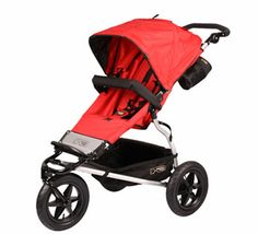 """Mountain Buggy Urban Jungle - chilli $500, 24 lb (can hold up to 77 lb) handle height 31""""-44""""  handle bar brake, 12"""" wheels, colors: black, chilli, navy, flint, moss, chocolate... more for walking"""
