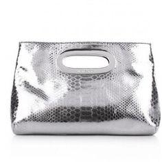 Berkley Clutch Silver von Michael Michael Kors