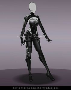 (closed) Outfit Adopt 687 by CherrysDesigns on DeviantArt Villain Costumes, Anime Costumes, Drawing Anime Clothes, Dress Drawing, Clothing Sketches, Dress Sketches, Super Hero Outfits, Super Hero Costumes, Fashion Design Drawings