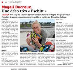 Parution /// #JDE Le Journal des entreprises Côtes d'Armor / Novembre 2012