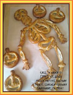 The Philly Pretzel Factory - Langhorne, PA is selling all different Halloween Custom Shaped Pretzels this month. The Pumpkin Pretzels are great for classroom Halloween Parties.
