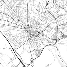 Downtown vector map of Luton. Very detailed version for infographic and marketing projects. This map of Luton, England, contains typical landmarks wit... ... #download #map #infographic  #marketing #travel #city #germany #german# #beautiful #map #communication #design #background #hebstreit