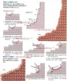 Lks NV4113 2004 Start Series  Тунисское вязание крючком  шарфы и жилеты  обучающая подборка. Обсуждение на LiveInternet - Российский Сервис Онлайн-Дневников