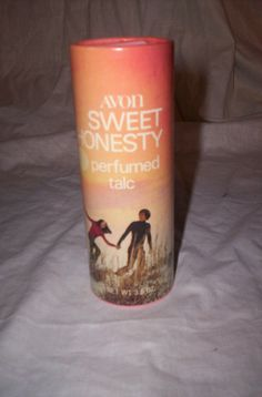 Avon Sweet Honesty---this and Love's Baby Soft were most teenage girls' perfume of choice the 1970s, at least among the girls I knew.. (I loved and had them both.)