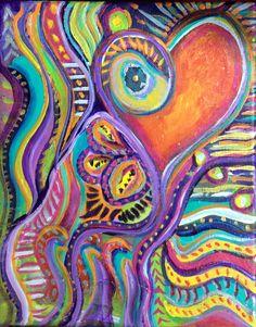 Intuitive painting by M.Tutcik #mtutcik