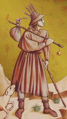 0. The Fool: Giotto Tarot