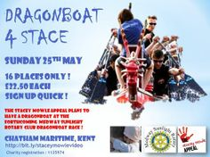 Join in the Dragon Boat Race 4 Stace and help us to raise funds for our Stacey to get treatment for cancer. #savingstacey
