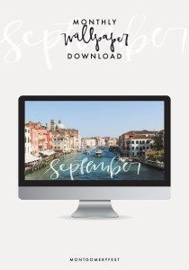 September | Monthly Wallpaper Download