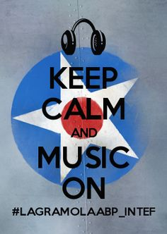 KEEP CALM AND MUSIC ON