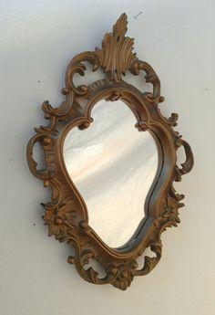 Gold Oval Mirror in Vintage Regency Frame (@ Amanda stafford)