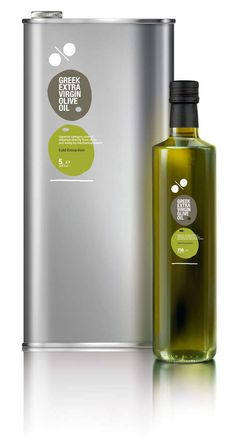 Symbolic Extract Branding : Greek Extra Virgin Olive Oil Packaging