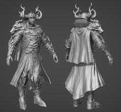 Yet another ArenaNet Art Test Thread --- Male Character - Page 2 - Polycount Forum