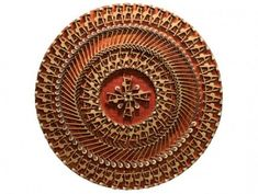 Carol Cole's Mesmerizing Steinway Mandala is Made From Recycled Piano Keys