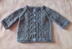 Ravelry: MAX Baby Cardigan Jacket pattern by marianna mel Baby Sweater Patterns, Baby Cardigan Knitting Pattern, Knit Baby Sweaters, Baby Hats Knitting, Knitting For Kids, Baby Knitting Patterns, Baby Patterns, Knitted Baby, Crochet Patterns