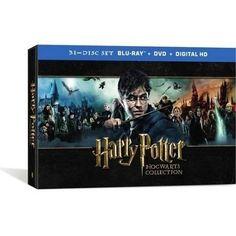 Harry Potter Hogwart's Collection (Blu-ray + DVD + Digital HD) (With INSTAWATCH) (Widescreen) - Walmart.com