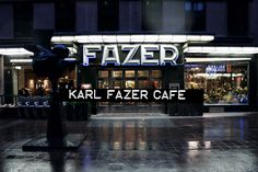 Karl Fazer Cafe / Helsinki   someplace to visit when we go to Finland in June