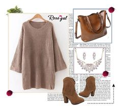 """Sweet sweater"" by merimasworld ❤ liked on Polyvore featuring Nearly Natural and vintage"