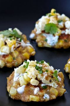 Mexican Street Corn Fritters | The Foodie Physician