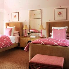 Playful Pink - 40 Guest Bedroom Ideas - Coastal Living