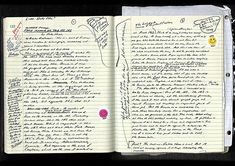 David Foster Wallace | Community Post: The Very Weird Handwriting Of Very Famous Authors