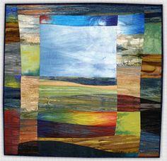 Marjan Kluepfel: Fabric Artist-Quilt Teacher - Landscapes Gallery